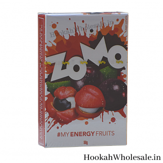 Zomo Energy Fruits Shisha Flavor 50g Online in India